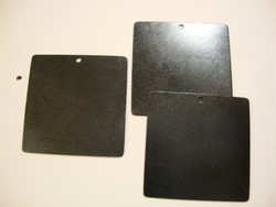 Vintaj Arte Metal tumma riipuspohja 29 mm (2 kpl/pss)