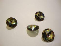 Swarovski kristalli rivoli Sateenkaari (Peacock) pyöreä 12 mm