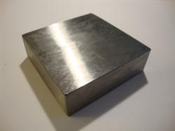Tasoalasin (Steel bench) 5 x 5 cm, paksuus 1 cm