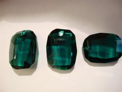 Swarovski kristalli riipus Graphic smaragdin vihreä 19x12 mm