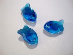 Swarovski kristalli Kala-riipus Caprin sininen 18 mm