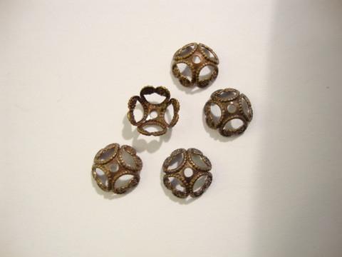 Vintaj helmihattu Etruskilainen 8 mm (4 kpl/pss)