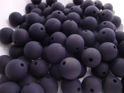 Polarishelmi musta matta 8 mm (4 kpl/pss)