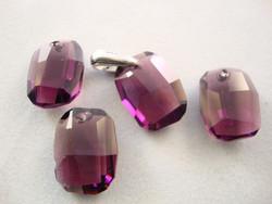 Swarovski kristalli riipus Graphic ametisti 19x12 mm