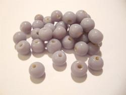 Opaakki lasihelmi lila / laventeli pyöreä n.6 mm (30 kpl/pss)