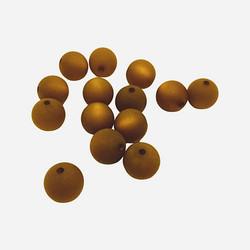 Polarishelmi kullanruskea matta 12 mm (2 kpl/pss)