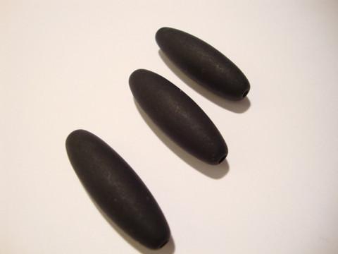 Polarishelmi musta matta ovaali 30 x 10 mm