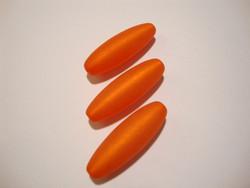 Polarishelmi oranssi matta ovaali 30 x 10 mm