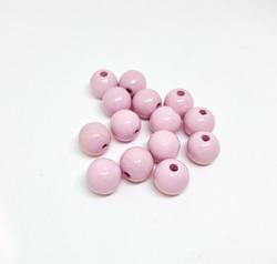 Rayher Puuhelmi vaaleanpunainen 8 mm (82 kpl/pss)