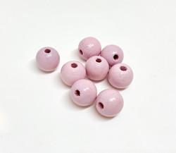 Rayher Puuhelmi vaaleanpunainen 10 mm (52 kpl/pss)