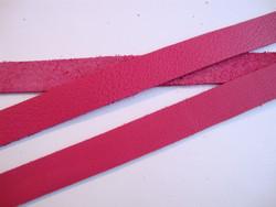 TierraCast Nahkanauha fuksianpunainen 12,5 mm/pituus 25 cm