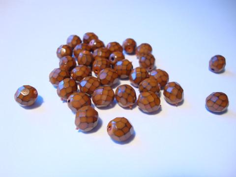 Käärmehelmi tumma oranssi 8 mm (10 kpl/pss)
