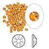 Swarovski strassi keltainen (Sun) tasapohja SS9 2,6 mm (20/pss)