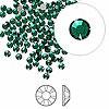 Swarovski strassi smaragdinvihreä tasapohja SS9 2,6 mm (20/pss)