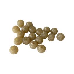 Kimallerondelli vihertävän keltainen 6 x 8 mm (10 kpl/pss)