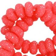 Kimallerondelli punainen 6 x 8 mm (10 kpl/pss)