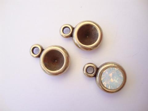 Riipus pronssi 15 x 10 mm SS39 (n. 8 mm) rivolille (2 kpl/pss)