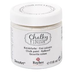 Chalky Finish kalkkimaali valkoinen 118 ml