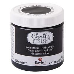 Chalky Finish kalkkimaali musta 118 ml
