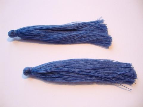 Tasselitupsu safiirinsininen n. 70 mm (2 kpl/pss)