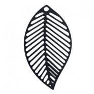 Riipus Bohemian Lehti musta 29 x 20 mm (2 kpl/pss)