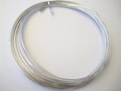 Alumiinilanka pyöreä anodisoitu hopeanvärinen 18 Gauge = 1,02 mm (13,7 m)