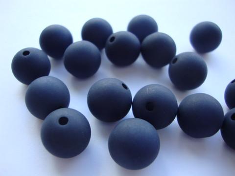 Polarishelmi tummansininen matta 12 mm (2 kpl/pss)