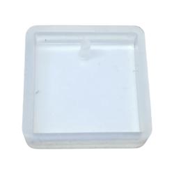 Silikonimuotti neliö koruhartsille ja korubetonille 25 x 25 mm
