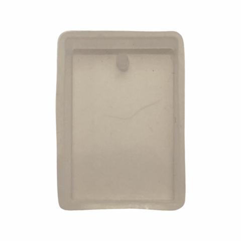 Silikonimuotti suorakaide koruhartsille ja korubetonille 29 x 19 mm