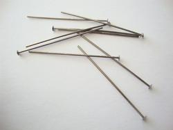 Niobium korupiikki tasapäinen tumma harmaa 37 mm (2 kpl/pss)