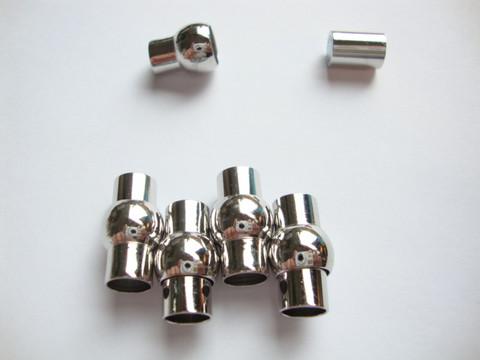 Magneettilukko  hopeoitu 17 x 9,5 mm