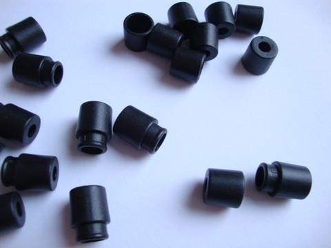 Turvalukko muovia musta 20 x 10 mm