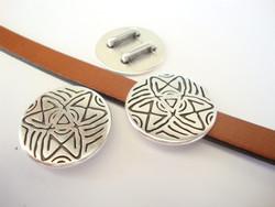 Metallihelmi/hela (slider) 26 mm 10 mm nahkanauhalle