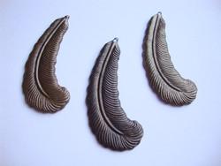 Vintaj Feather Plume -sulkariipus 46 mm