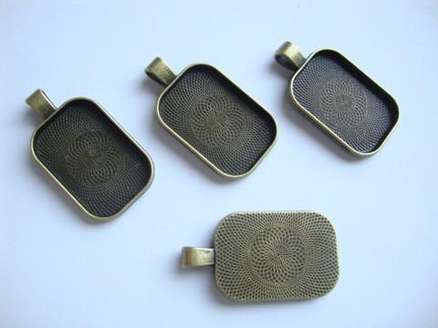 Riipus / kuvakehys pronssinvärinen 41 x 22 mm