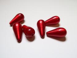 Polarishelmi rubiininpunainen kiiltävä pisara 20 x 10 mm (2 kpl/pss)