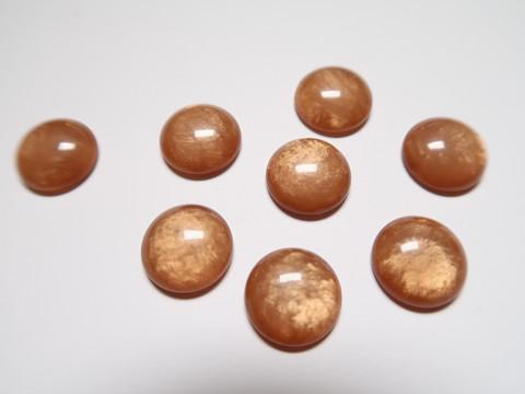 Polariskapussi hohtava toffeenruskea 12 mm