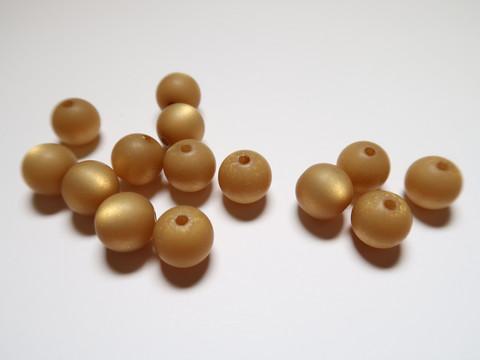 Polarishelmi Curry keltainen kiiltävä pyöreä 8 mm (4 kpl/pss)