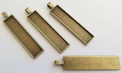 Riipus / kuvakehys pronssinvärinen 58 x 12 mm