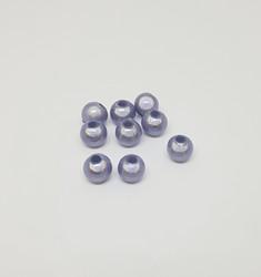 Akryylihelmi heijastava pyöreä 6mm vaalea lila 50kpl/pss