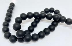 Kivihelmi Onyx matta musta 10 mm (10 kpl/pss)