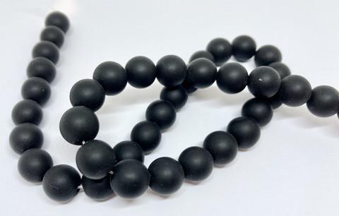 Kivihelmi Onyx matta musta 12 mm (10 kpl/pss)