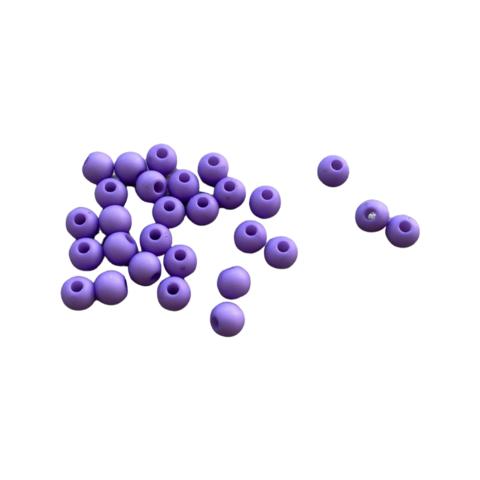 Akryylihelmi 4 mm violetti matta 3g (n.100 kpl)