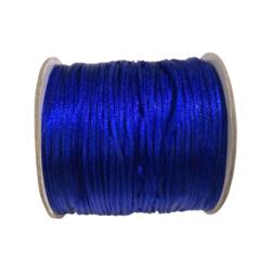 Satiininauha sininen  1,5 mm (2 metriä)