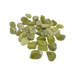 Kivihelmi Serpentiini vaaleanvihreä 15-25 mm (4 kpl)