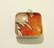 925 Hopeariipus Oranssi tammenlehti 10 mm