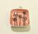 925 Hopeariipus Lemmikki pinkki 10 mm