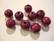 Rayher Puuhelmi lila/violetti pyöreä 8 mm (82 kpl/pss)