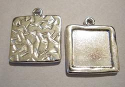 TierraCast Riipus / hopeoitu kuvakehys 20 mm (kuvan koko 15 mm)