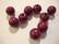 Rayher Puuhelmi lila/violetti pyöreä 10 mm (52 kpl/pss)